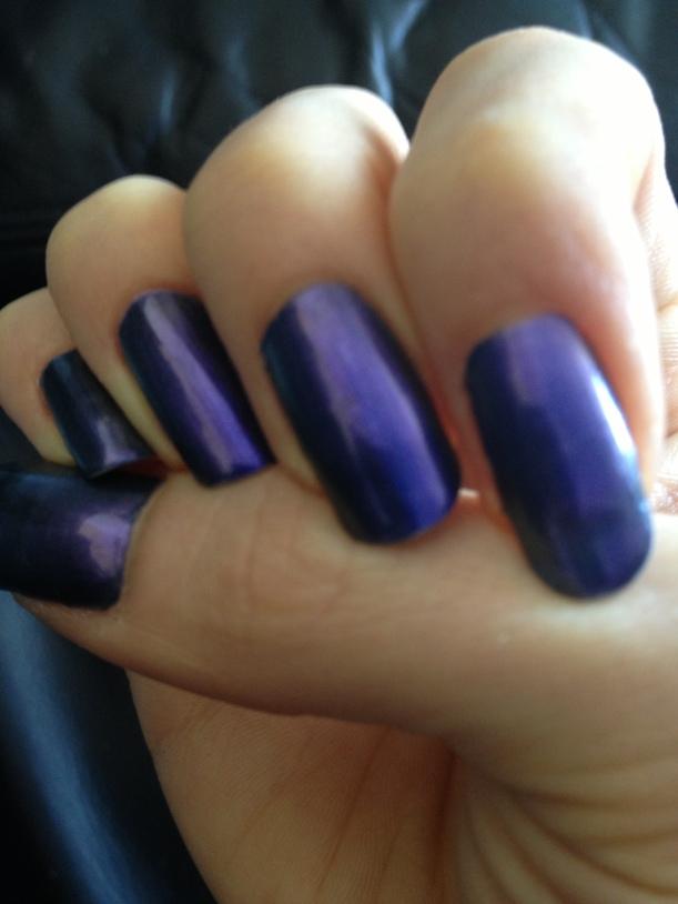 Vibrant violet hue.