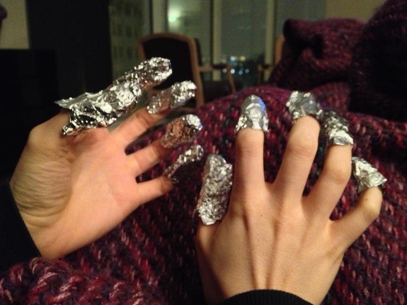 ET fingers.