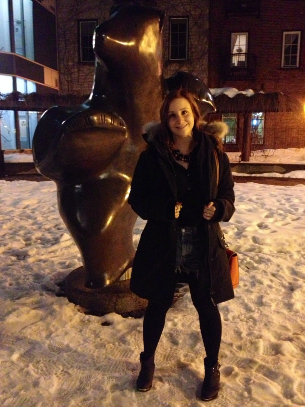 Bear-ly Cold Out!
