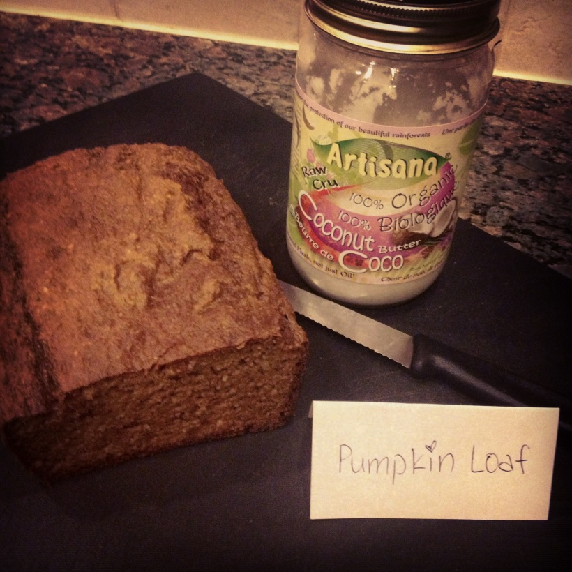 Healthy Pumpkin Loaf