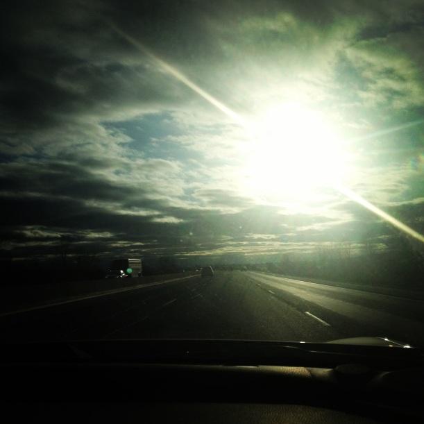 Beautiful driving weather.