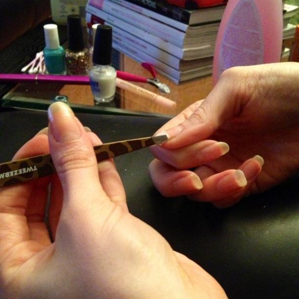 Repairing a Broken Nail