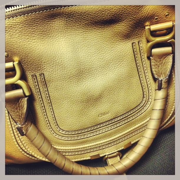 My aunt spoiled me to a new Chloé bag for my birthday!