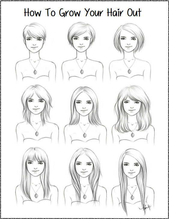 Astounding A Guide To Growing Out Haircuts A 5393 Perspective Short Hairstyles Gunalazisus