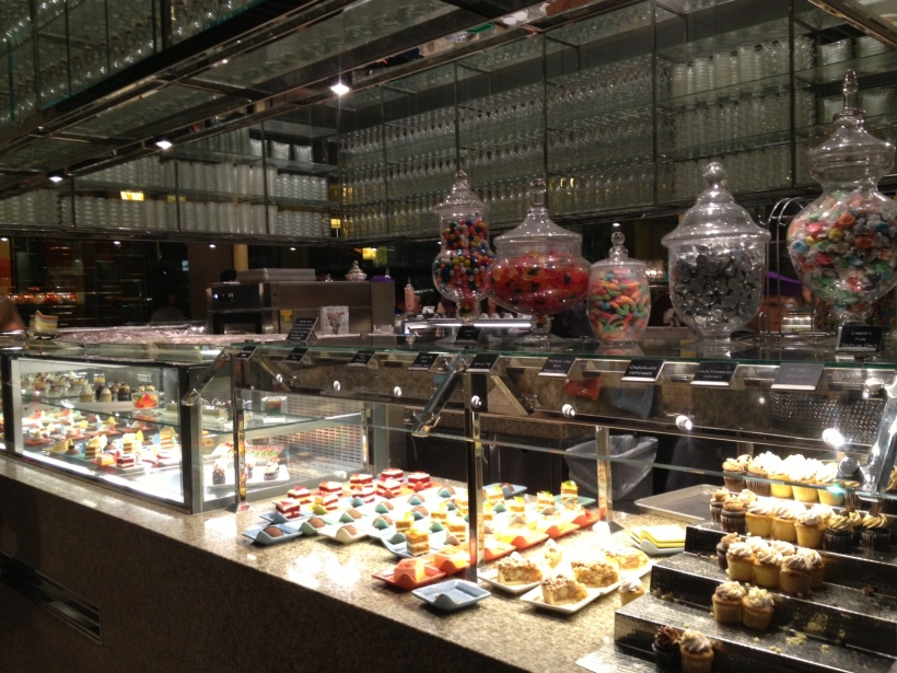 Usually buffets have no appeal to me, but this dessert station at the Vegas' largest buffet was to die for.