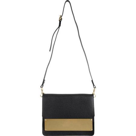 Sophie Hulme Metal Tab Handbag