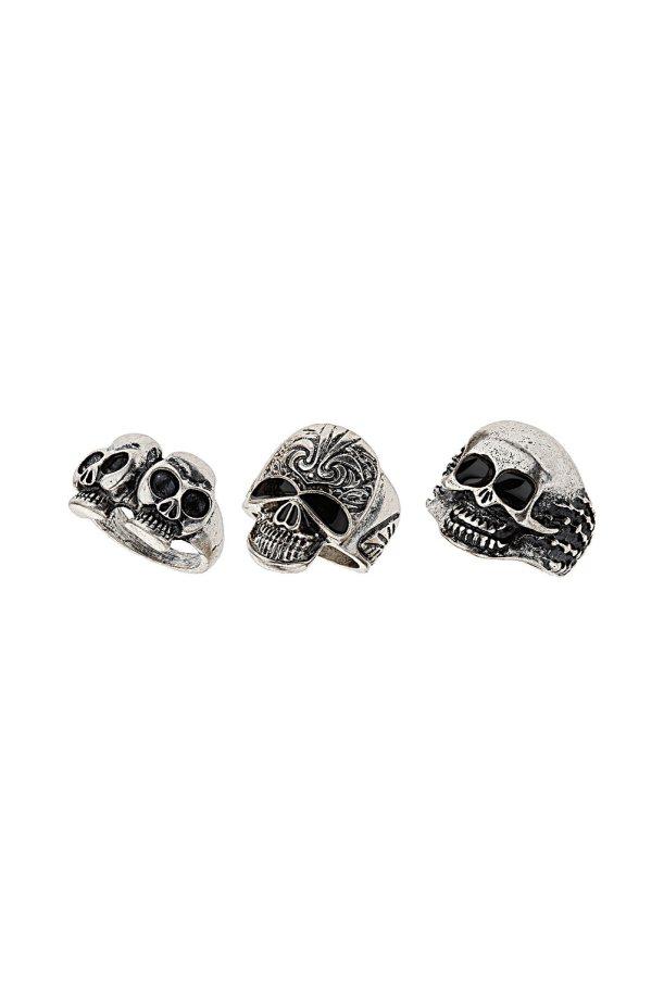 Mix Skull Ring Pack