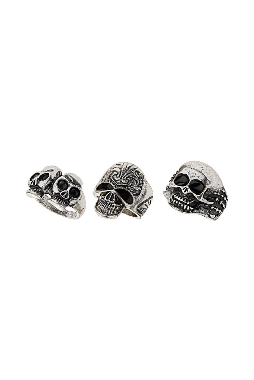 Mix Skull Ring Pack