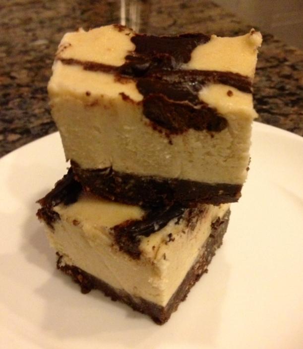 Raw Chocolate Swirl Cheese[LESS]cake