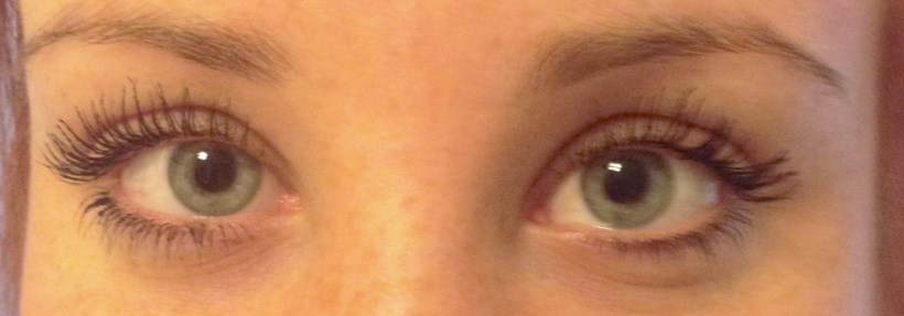 After - Front View [YSL Mascara Volume Effet Faux Cils Babydoll]