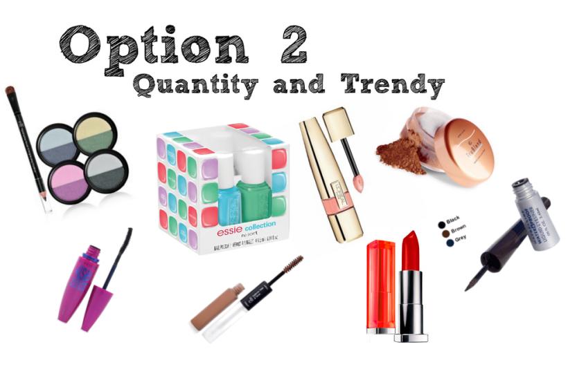 Quantity and trendy