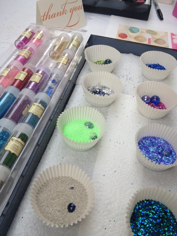 DIY Mani supplies! I could have played with these all night!