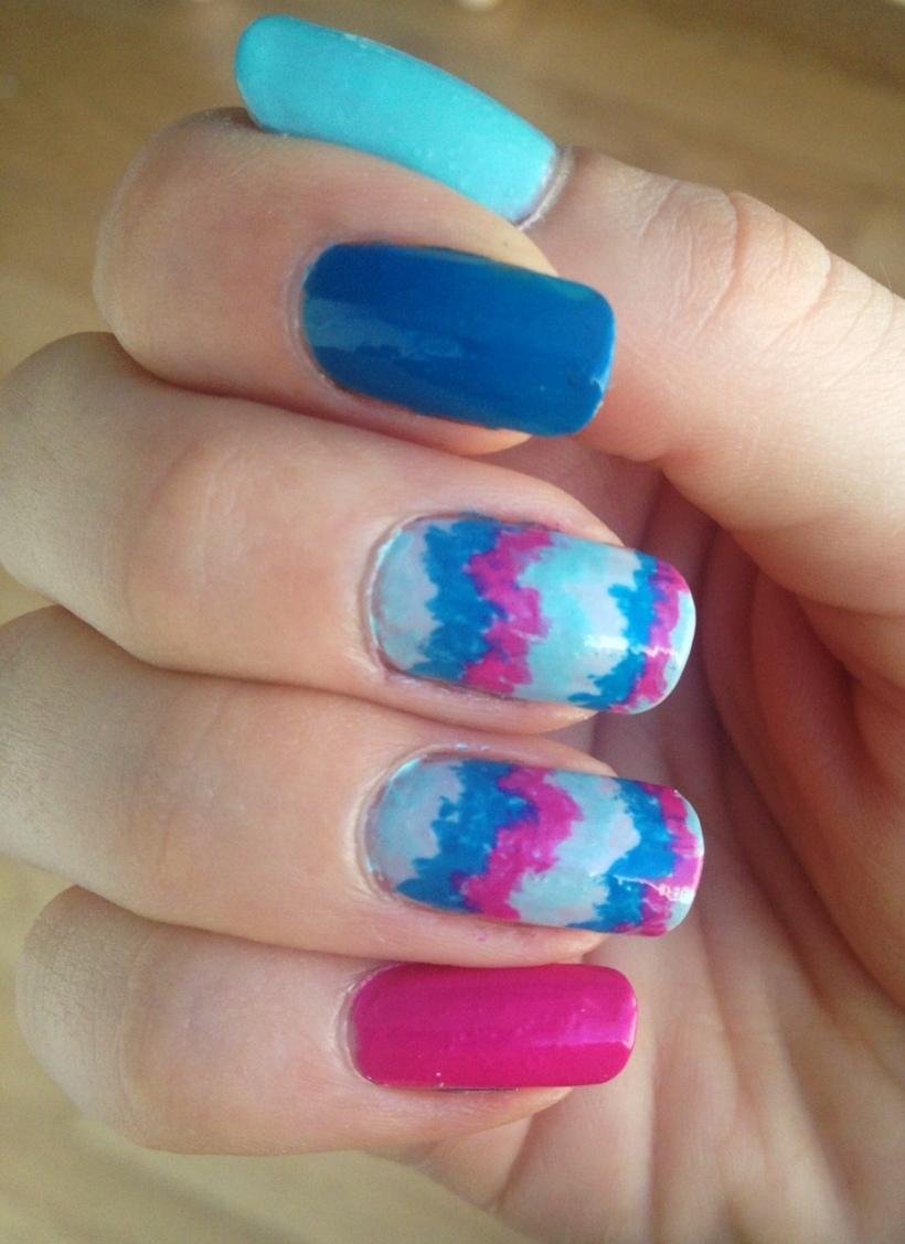 Revlon Haute Tropics Nail Art Mani