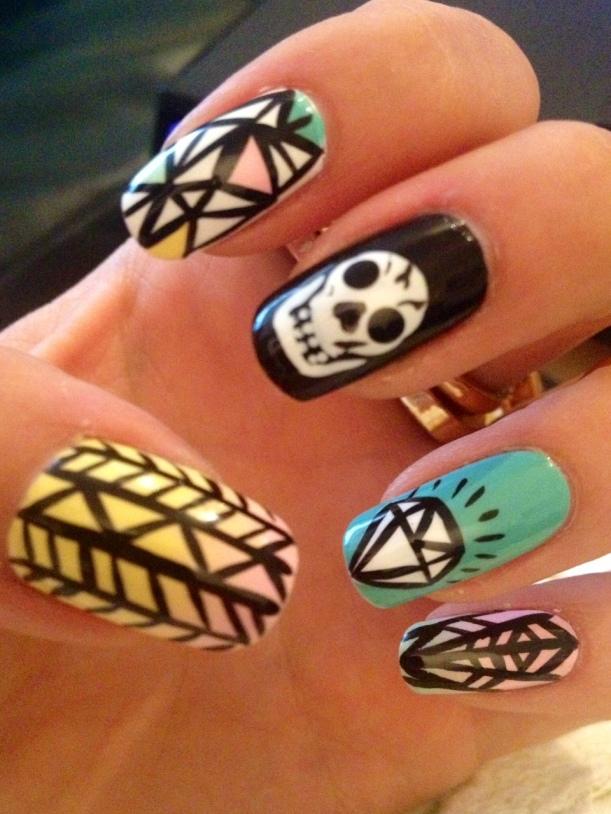 Pinky's Nail Art
