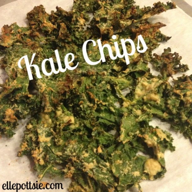 Cheese-less Cheesey Kale Chips