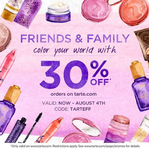 Tarte Friends And Family