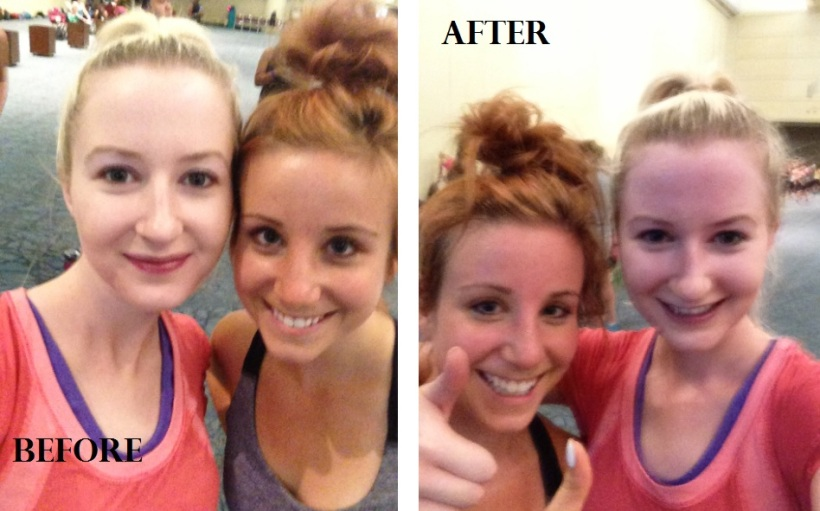 before and after bodyshred