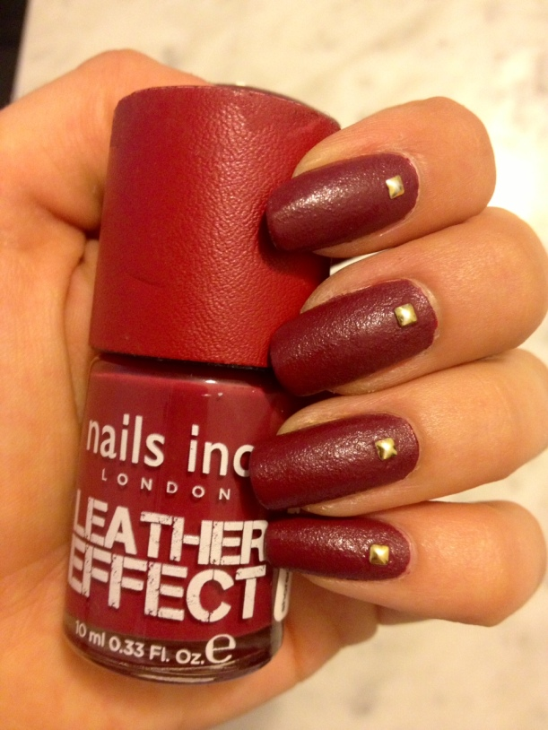Nails Inc Leather Effect