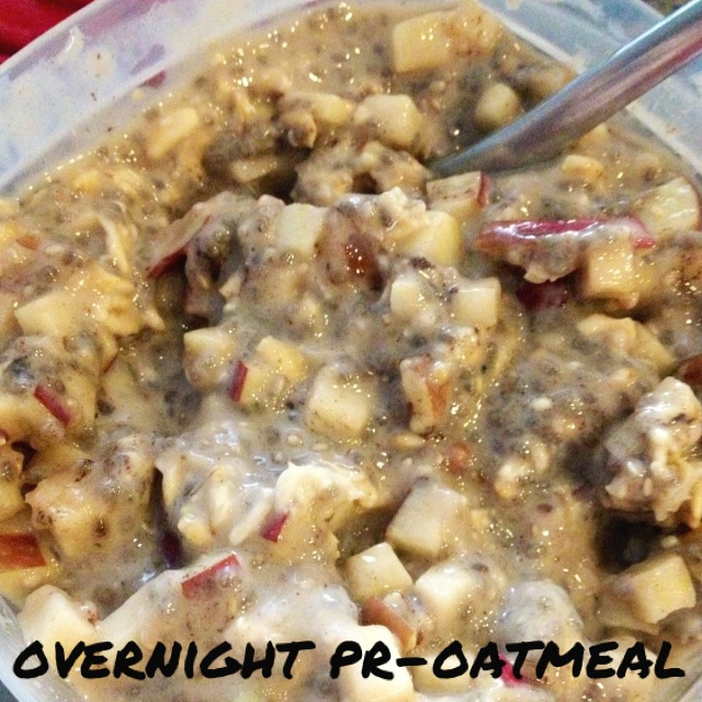 Overnight Pr-oatmeal