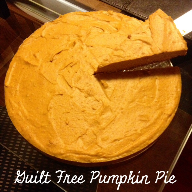 Guilt Free Pumpkin Pie